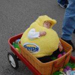 DIY Peeps Baby Costume