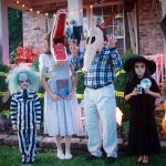 Incredible Homemade Beetlejuice Family Costume