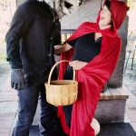 Big Bad Wolf and Little Red Riding Hood Couples Costume