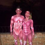 Homemade Human Anatomy Couples Costumes