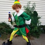 Incredible Buddy the Elf Costume for Girls