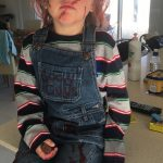 5 Dollar DIY Chucky Costume for Kids