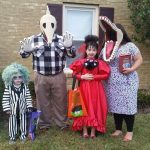 DIY Beetlejuice Family Costume