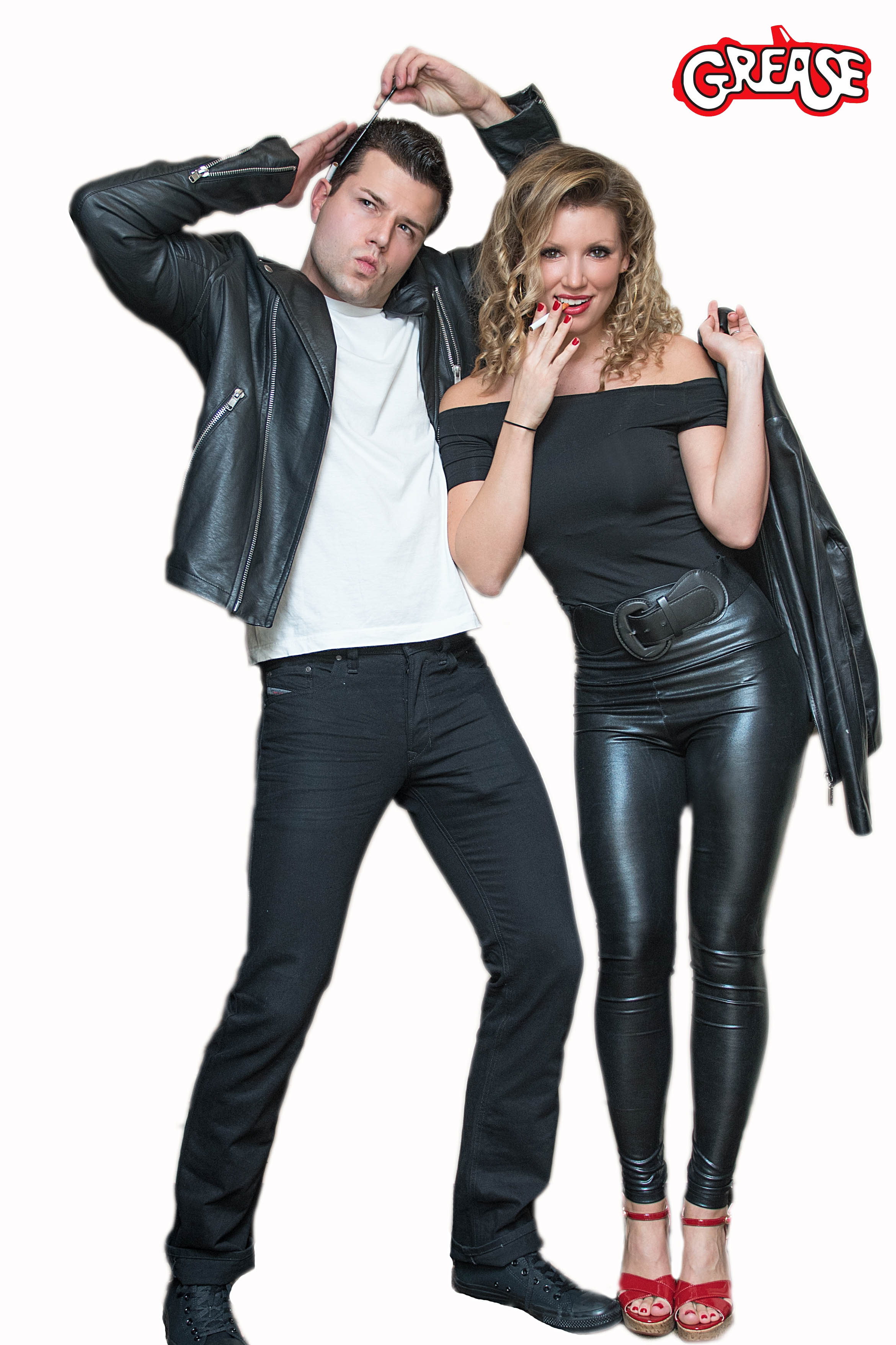 Fonkelnieuw DIY Danny and Sandy Grease Couples Costumes - Costume Yeti MJ-12