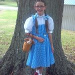 DIY Dorthy from the Wizard of Oz Costume