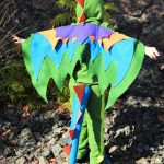 Homemade Felt Dragon Kids Costumes