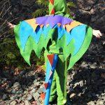 Homemade Felt Dragon Kids Costumes