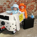 Homemade Dumb and Dumber Toddler Costume