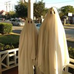 Easy DIY Ghost Couples Halloween Costumes