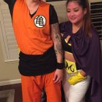 DIY Goku and Majin Buu Couples Costumes