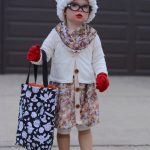 Adorable DIY Grandma Costume for 2 Year Olds