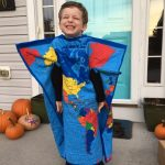 DIY Human Map Costume for Kids