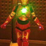 DIY Iron Girl Costume