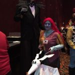 Homemade Jack Skellington and Sally Couples Costume