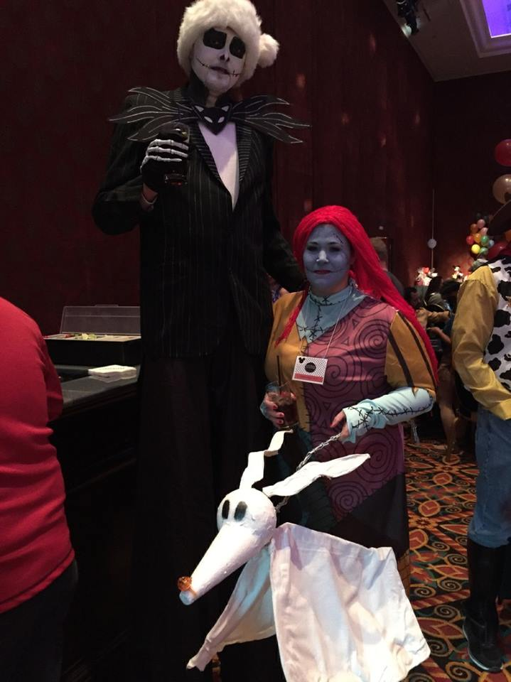 Homemade Jack Skellington And Sally Couples Costume Costume Yeti