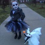 Homemade Jack Skellington Costume for Kids