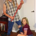 DIY Joe Dirt and Brandy Couples Costume