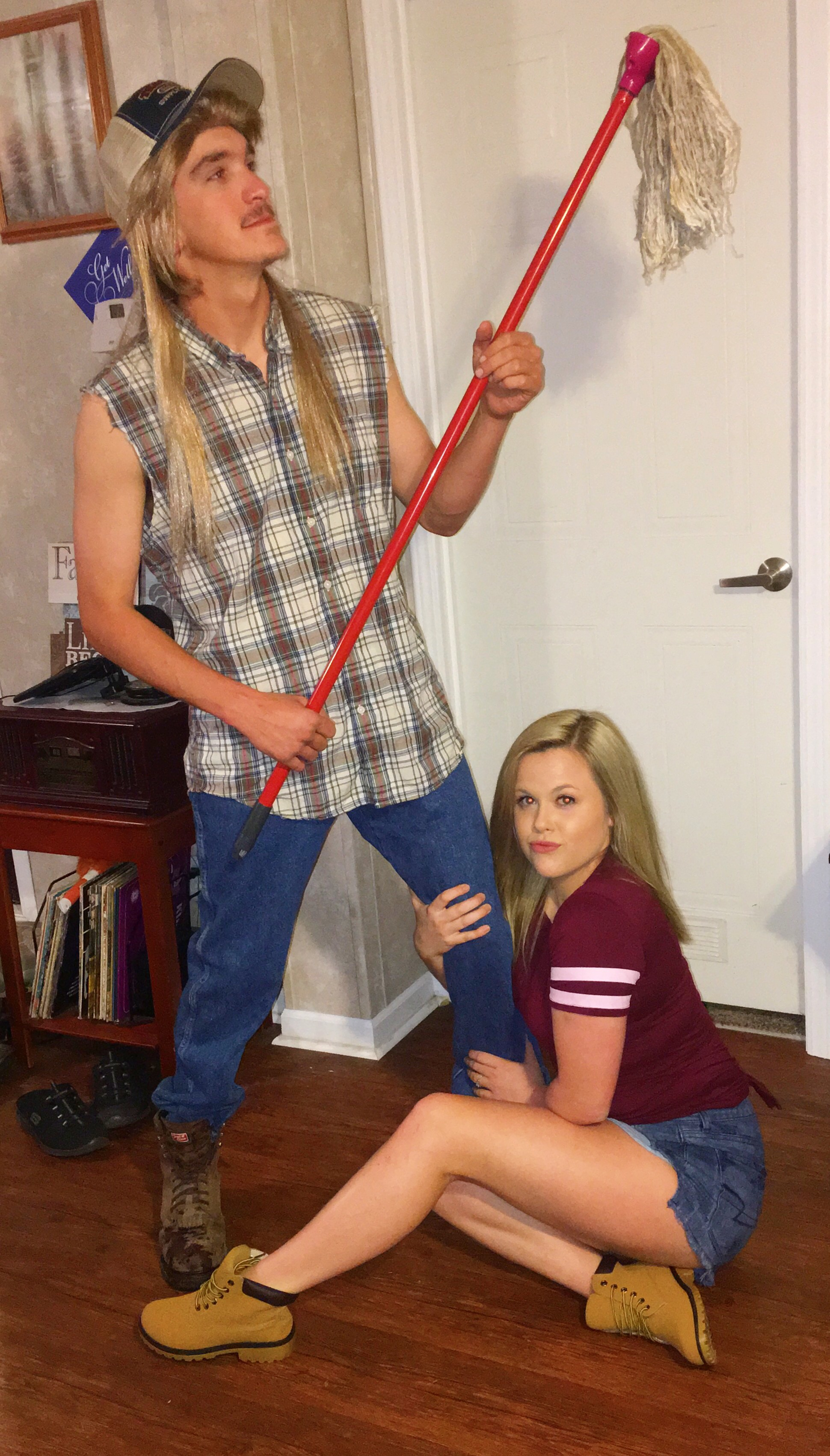 Joe Dirt & Brandy