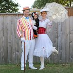 DIY Marry Poppins Family Costume