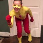 DIY Retro Kid Flash Costume