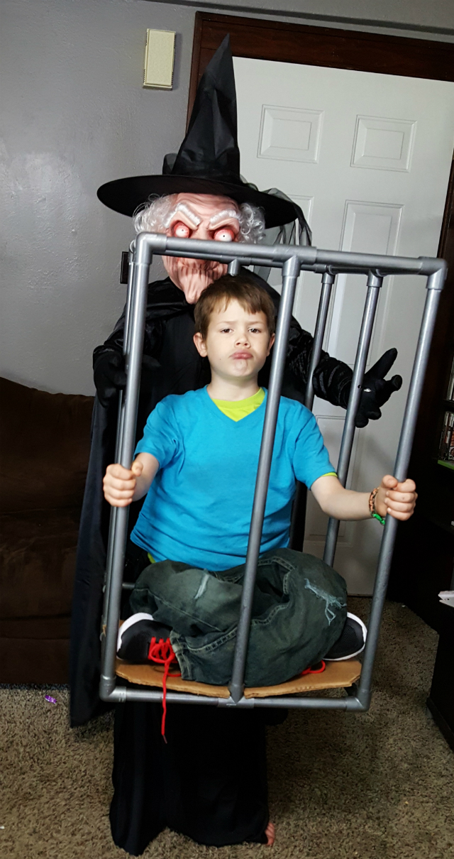 Kidnapped Illusion Costume