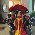 Homemade La Muerte Costume from The Book of Life