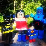 DIY Lego Justice League Family Costume