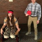DIY Lieutenant Dan and Forest Gump Couples Costume