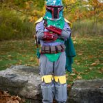 Homemade Boba Fett Costume for Kids