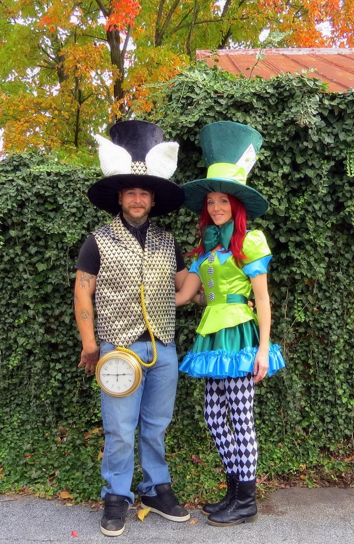 Mad Hatter & White Rabbit from Alice in Wonderland