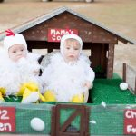 DIY Mama's Chicken Coop Costume