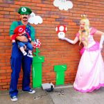 DIY Mario Bros Family Costume
