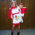 DIY Matryoshka Russian Nesting Dolls Maternity Costume