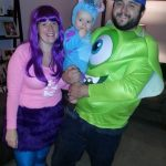 Monster's University Family Costume