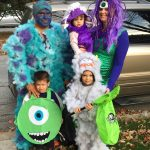 DIY Monsters Inc Family Costume