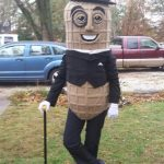 DIY Mr. Peanut Costume