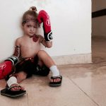 DIY Muay Thai Boxer from Thailand Costume for Kids