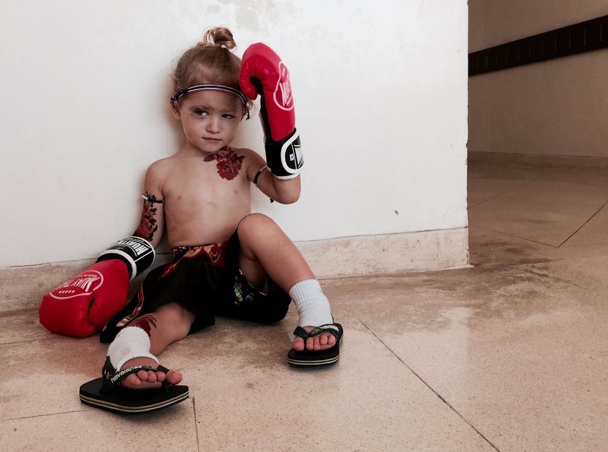 Muay Thai Boxer from Thailand