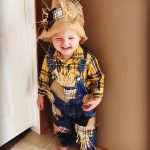 DIY My Little Scarecrow Costume for Toddlers