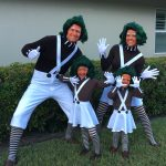 DIY Oompa Loompa Family Costume