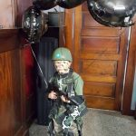 Homemade Paratrooper Kids Costume