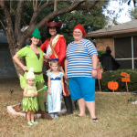 DIY Peter Pan Family Costume