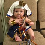 DIY Pharaoh of the Nile Baby Costume
