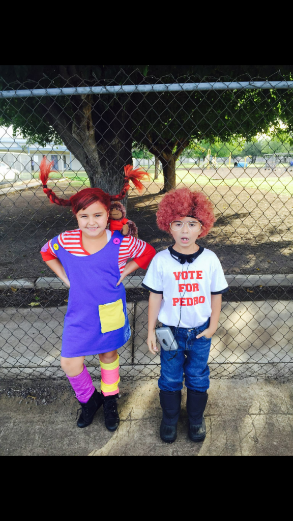 Pippi long stocking & Napoleon dynamite