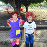 DIY Pippi Long Stocking and Napoleon Dynamite Costumes