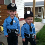 Policemen Costumes for Brothers