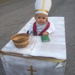 DIY Pope Francis and Pope Mobile Costume