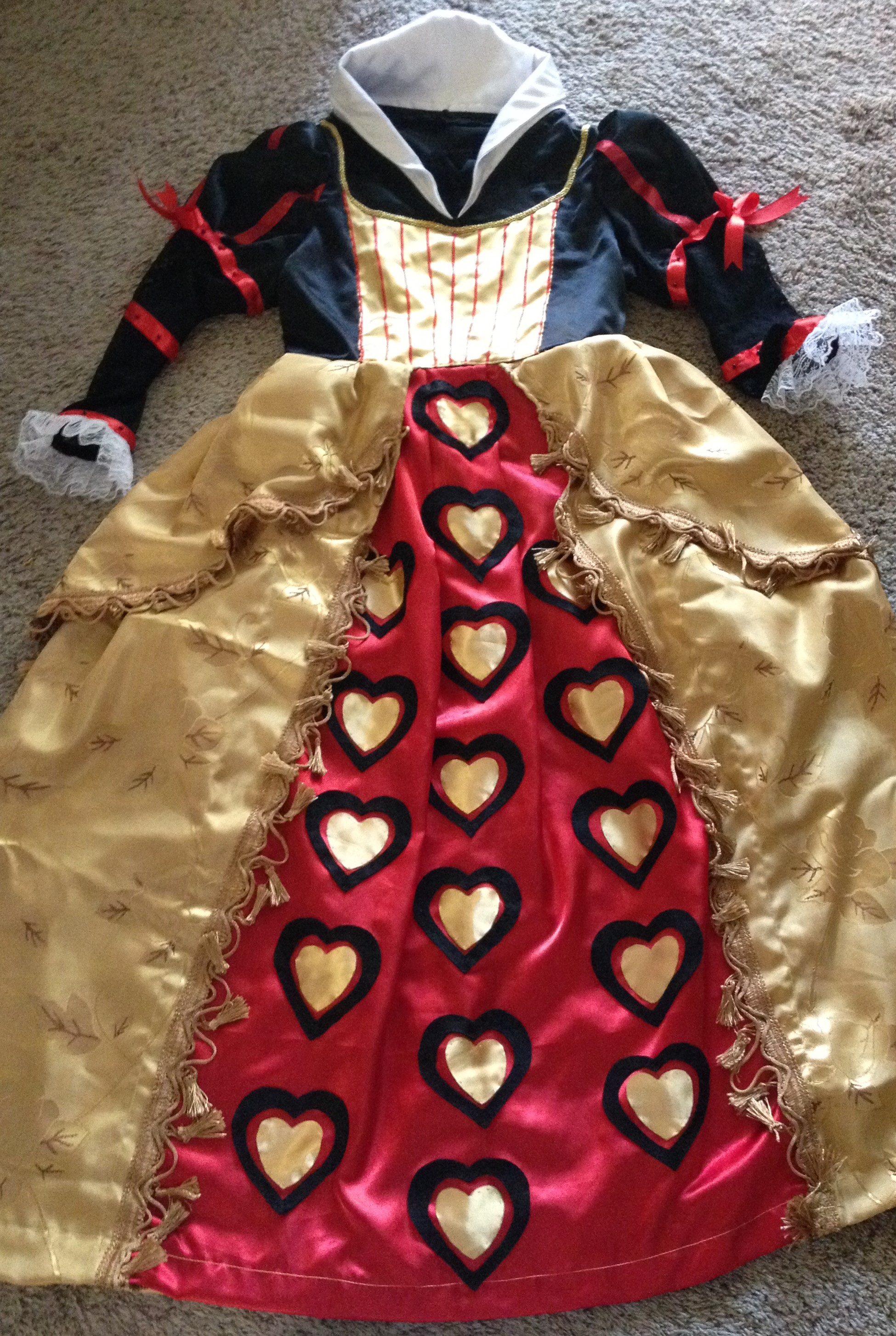 Queen of Hearts (Tim Burton Alice in Wonderland)