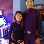 DIY Raven and Beast Boy Couples Costumes from Teen Titans
