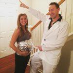 DIY Saturday Night Fever Couples Costume